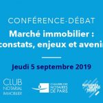 Club Notarial Immobilier – Septembre 2019