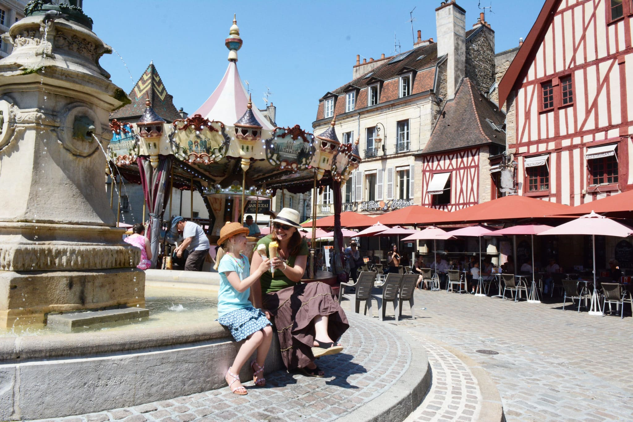 Place Bossuet à Dijon ©Rozenn Krebel