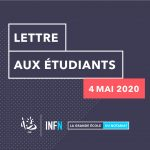 INFN lettre étudiants