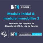 résultats module INFN Rennes