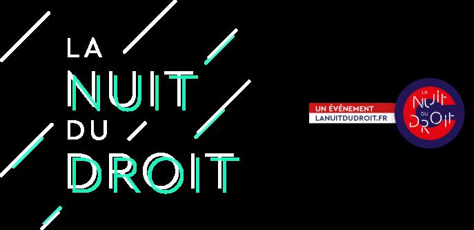 Logo de la La Nuit Du Droit 2020 de l'INFN